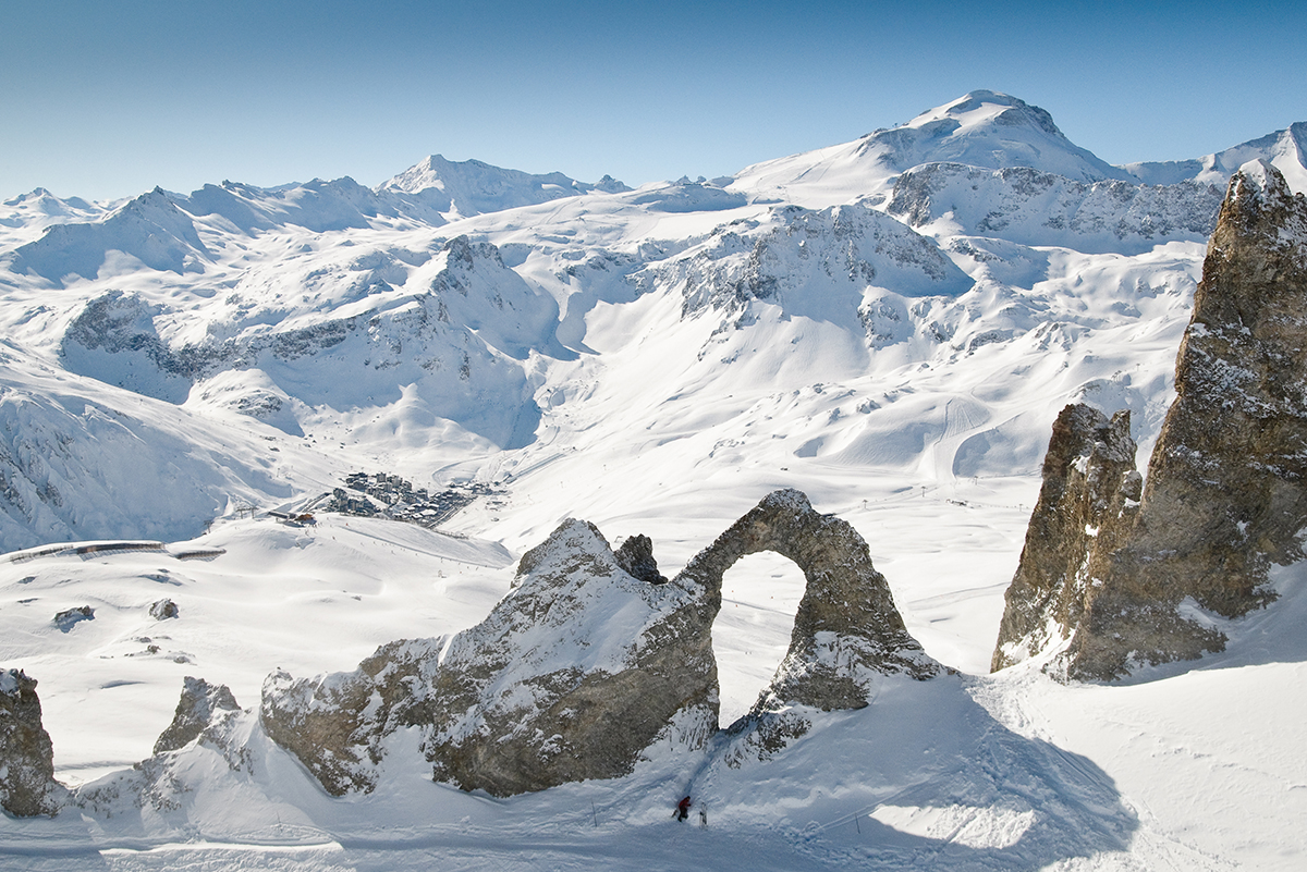 ski holidays in france : tignes ski area for your french skiing holiday