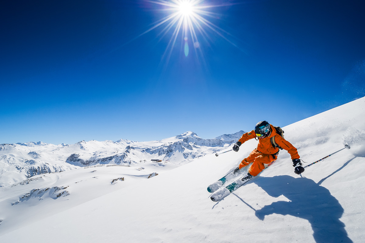 French Station Open In November And May : Tignes, Ski Area