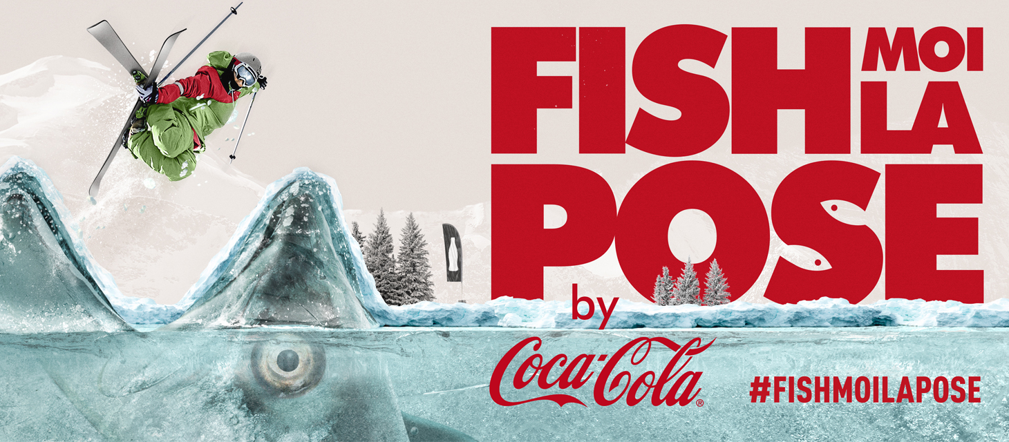 fish moi la pose by coca cola contest photo instagram tignes things to do in tignes. Black Bedroom Furniture Sets. Home Design Ideas